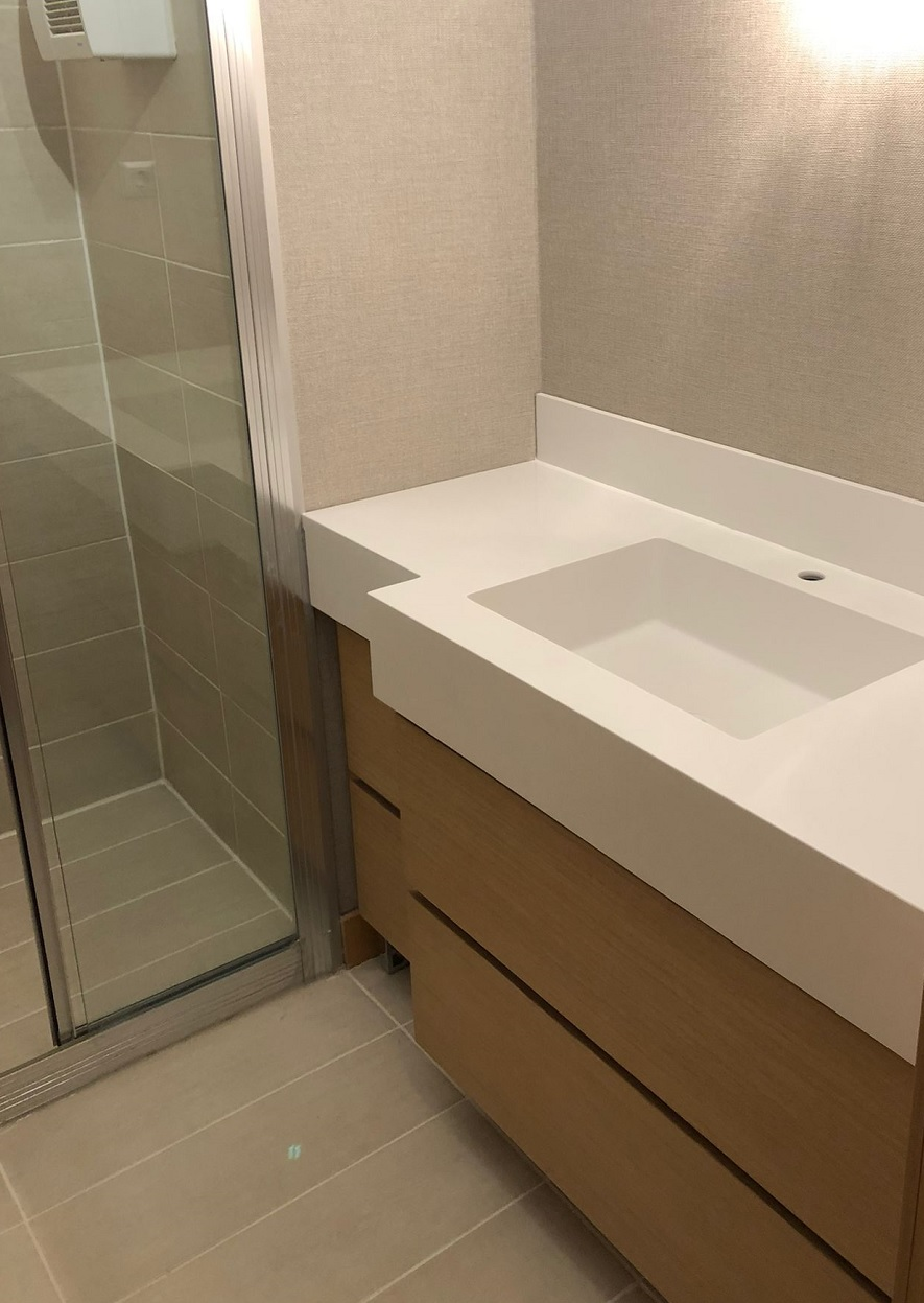 Şekerpınar Corian Banyo Lavabosu